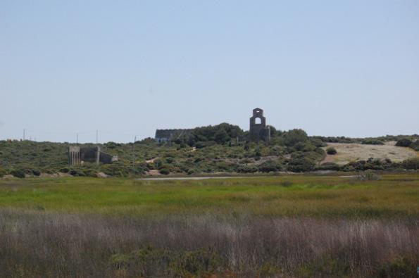 Carloforte, Stagno e miniera della Vivagna