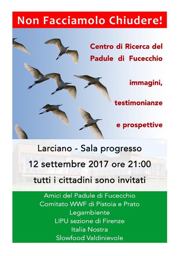 19 PadulediFucecchio_Locandina assemblea Larciano